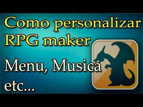 como personalizar RPG Maker / Menu, musica, etc...