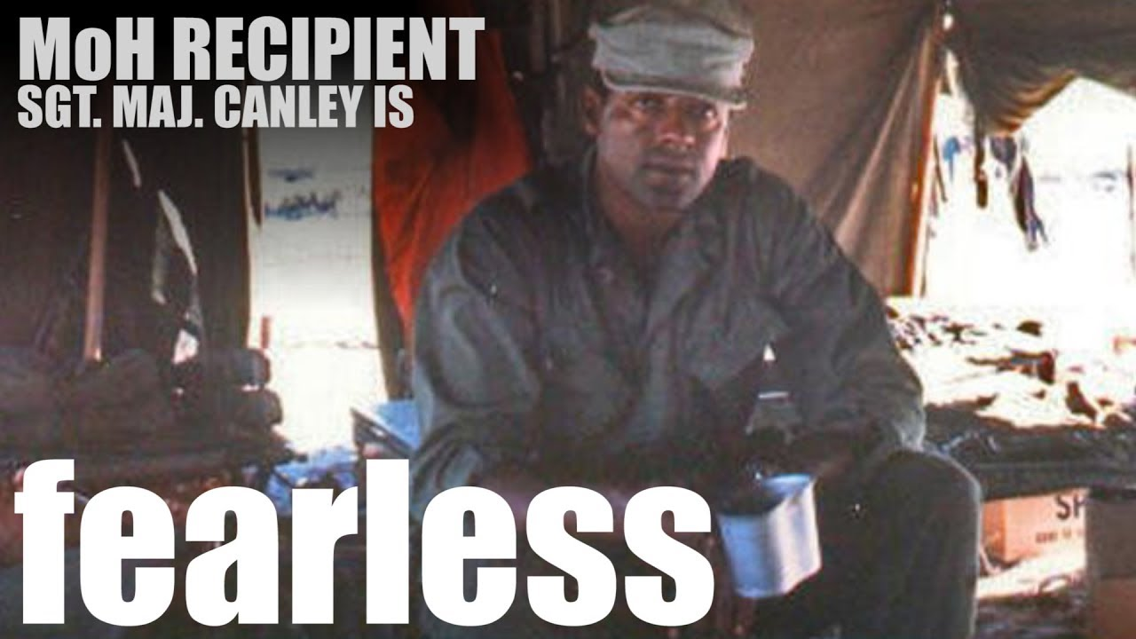 Sgt. Maj. John Canley — Fearless Marine to be Awarded Medal of Honor