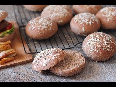 pains-pour-burger-à-la-farine-complète
