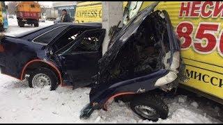 Подборка ДТП, АВАРИЙ на 8 ЯНВАРЯ 2019 (08.01.2019)  A selection of accidents on January 8, 2019