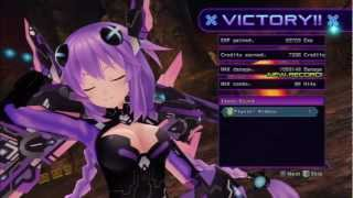 Hyperdimension Neptunia Victory - Neptune, Noire, Blanc, Vert - EXE Drive - Guardian Force