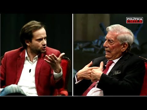 "Mario Vargas Llosa a Axel Kaiser: ""¡Esa Pregunta No te la Acepto!"""