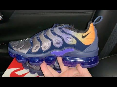 Nike Air VaporMax Plus Blue Orange