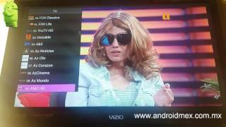 Android TV Smart Tv Canales de Paga Gratis Tipo Dish o Sky Peliculas Tv Box IPTV
