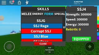 Drachenball ultimate no ROBLOX!!!