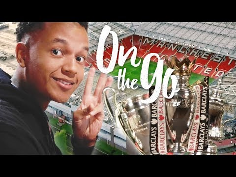 Liam relives the legends of Manchester United  – On the go with EF #88