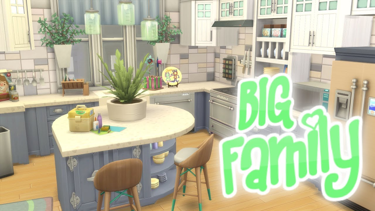 The Sims 4 Parenthood Large Family Apartment Sd Build 20 Culpepper House