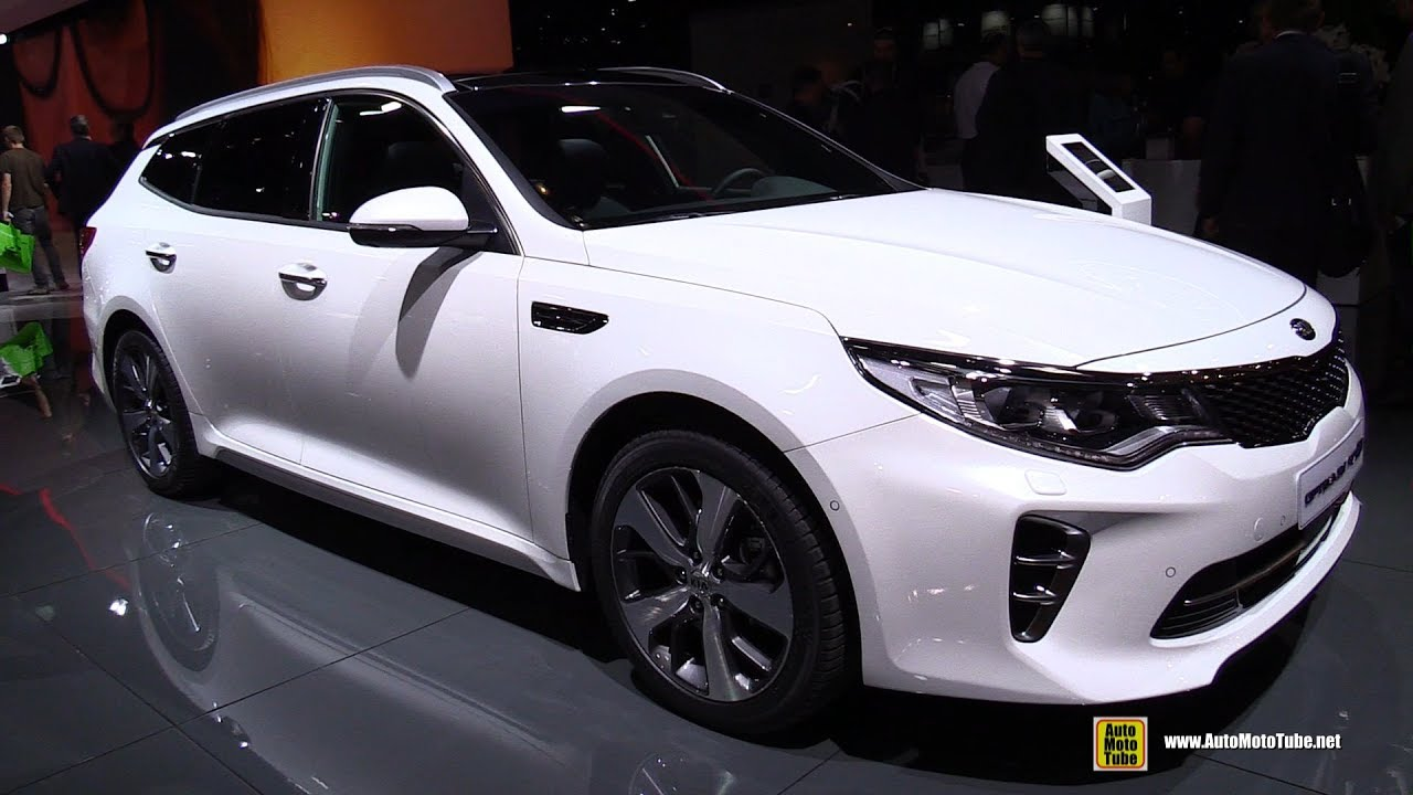 2017 kia optima sw gt line exterior and interior walkaround 2016 paris motor show youtube. Black Bedroom Furniture Sets. Home Design Ideas