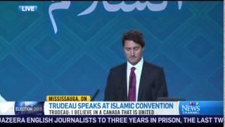 CTV News: Canada's Liberal Party leader Justin Trudeau at Ahmadiyya Muslim Convention