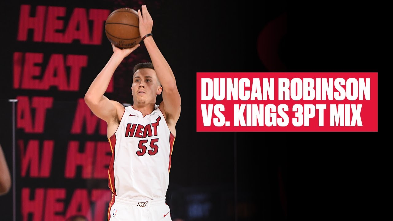 Duncan Robinson Hits 4 3-Pointers In 5 Minutes vs. Kings - Bleacher Report
