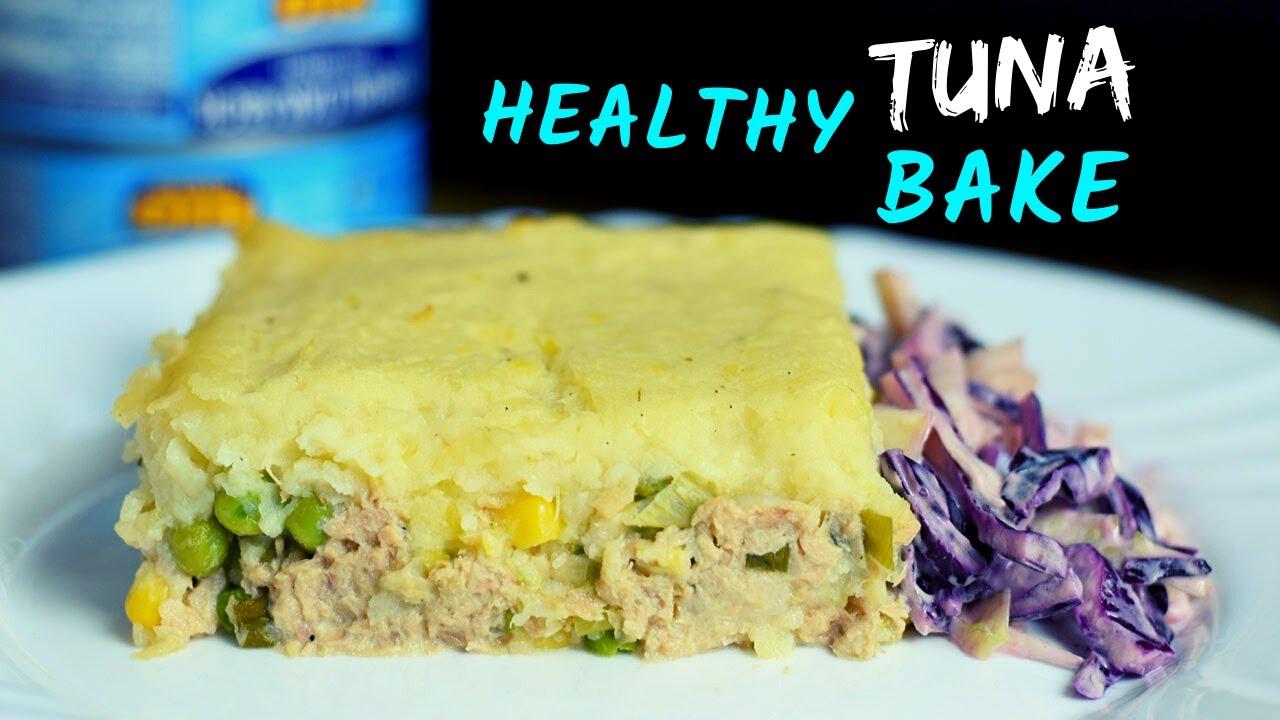 Tuna Bake with Mashed Potato