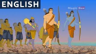 Çocuklar İçin Rama Öldürür Kumbhakarna - İngilizce Ramayanam - Animasyon/Karikatür Hikayeleri