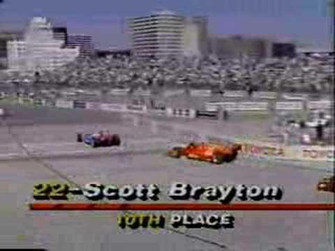 1991 CART Long Beach Highlights