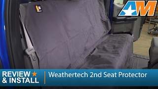 2009-2017 Ford F-150 Weathertech 2nd Seat Protector Review & Install