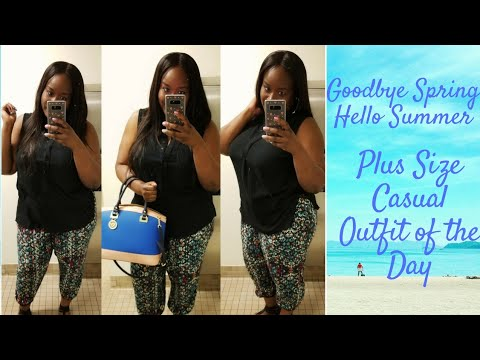 [VIDEO] – Hello Summer Plus size Casual Outfit of the Day