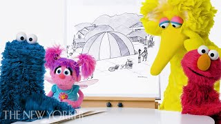 """Sesame Street"" Enters The New Yorker's Cartoon-Caption Contest 