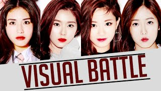 Irene VS Tzuyu VS SinB VS Somi (Visual Battle)