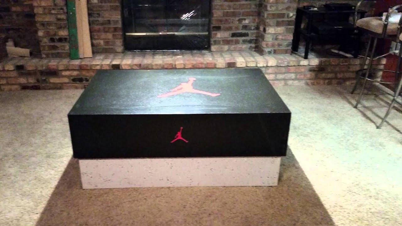 & Jordan Shoe Box (Storage) - YouTube
