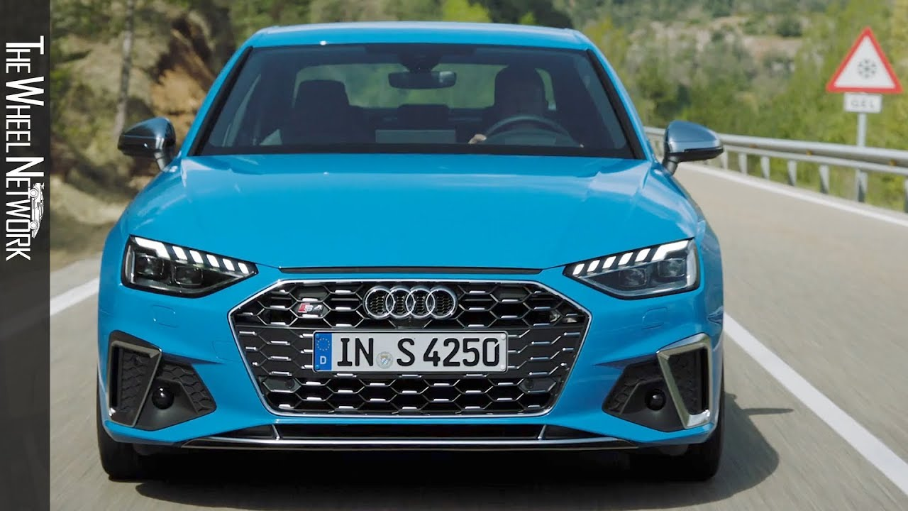 2020 Audi S4 Review.2020 Audi S4 Sedan Tdi Driving Interior Exterior