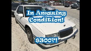 I Won A Pristine 89 Buick Riviera At Copart For $300