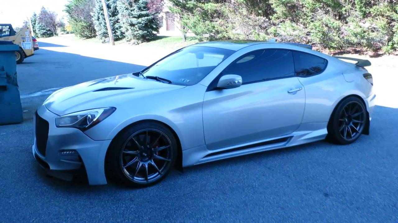 Quick Walk Around On MampS Body Kit On BK2 Genesis Coupe