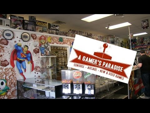 A Gamer's Paradise Game Store - Gamester81