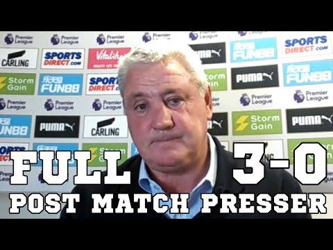 Newcastle 3-0 Sheffield United - Steve Bruce FULL Post Match Press Conference - Premier League
