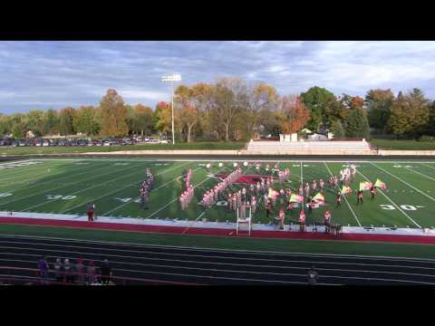 Constantine High School Marching Band performance