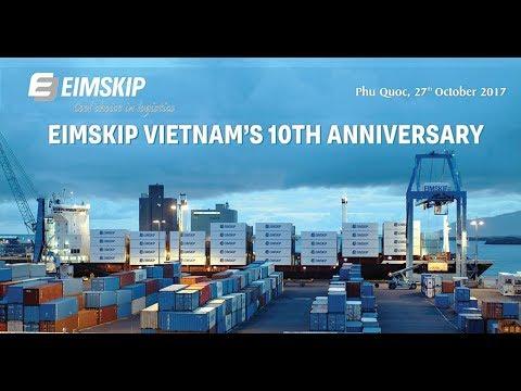 Eimskip Vietnam's 10th Anniversary