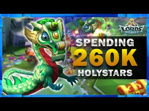 260K HOLY STARS IN LABYRINTH ELITE - JACKPOT?! - LORDS MOBILE - MISTER BP GAMING