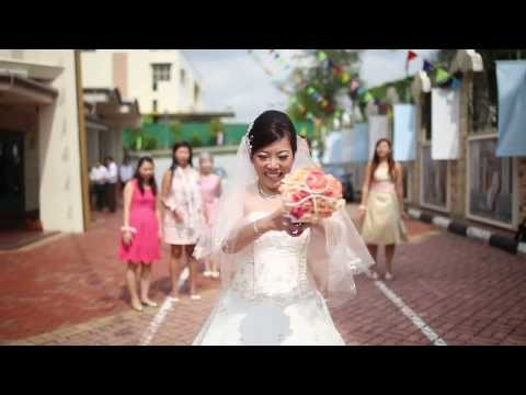 Singapore Church Wedding Cinematography | The Forever Films