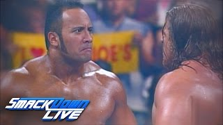 Relive Triple H vs. The Rock in SmackDown's first main event: SmackDown LIVE, Nov...