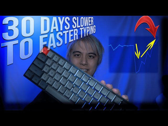 I slowed my typing to type faster. | Week 11