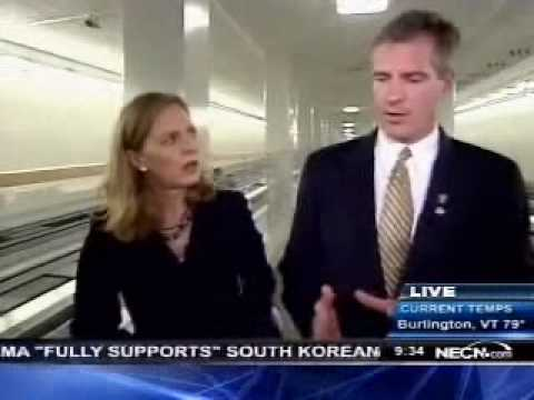 NECN: A Day In The Life With Senator Brown PART ONE