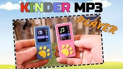 🔴BESTER MP3 Player für KINDER WIWOO KINDER MP3 PLAYER REVIEW
