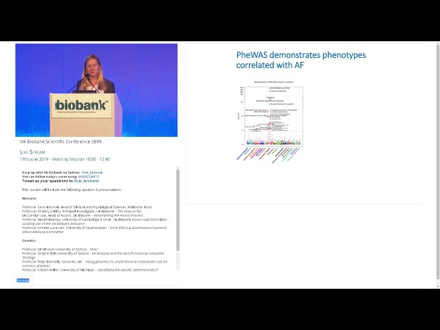 Professor Cristen Willer Identifying the genetic determinants of arrhythmias