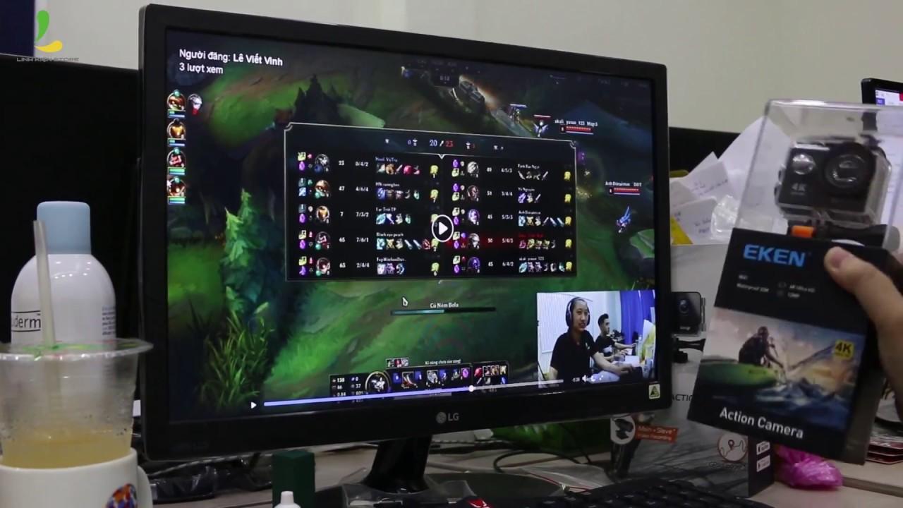 Hướng dẫn kết nối Eken H9r với máy tính PC để Livestream - Trở thành Streamer dễ dàng #1