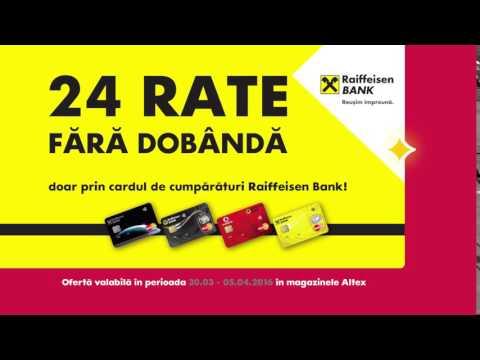 Reclamă ALTEX - Raiffeisen Bank - 30.03 - 05.04 2016