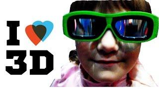 """Лиза идет в 3D кино смотреть фильм """"Книга джунглей"""" !!! │#LizaZnaet"""