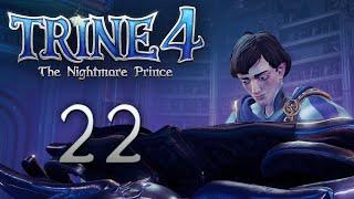 Trine 4: The Nightmare Prince - Кооперативное прохождение игры - Черничный лес ч.2 [#22]   PC