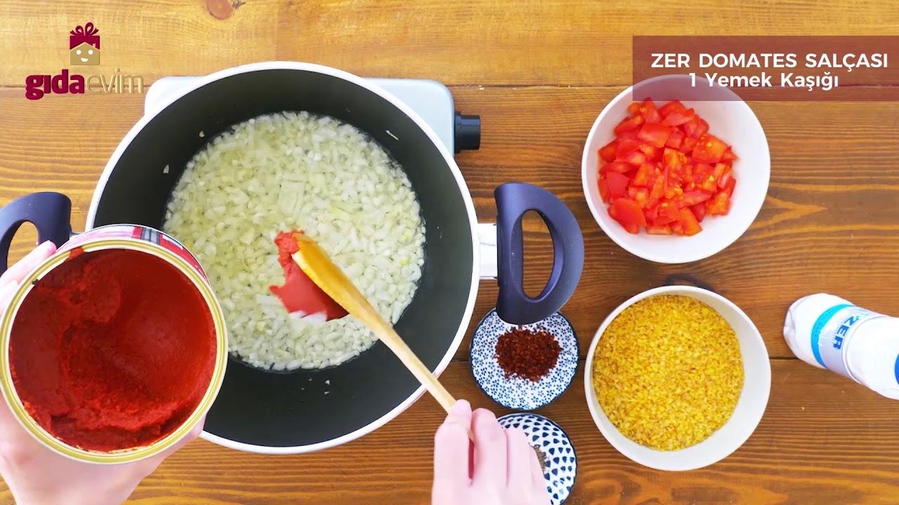 Sebzeli Bulgur Pilavı Nasıl Yapılır? - Yemek Tarifi - Gıdaevim