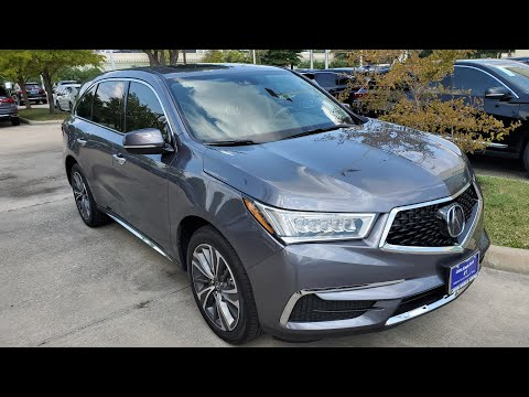 2020 Acura MDX Exterior And Interior Color Options