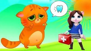Суровый КОТИК БУБУ ВСЕ СЕРИИ ПОДРЯД Мультик ИГРА про котят #УШАСТИК KIDS