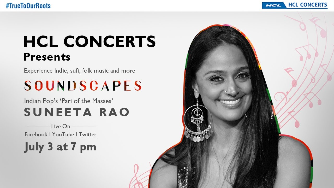 HCL Concerts presents Soundscapes Ep: 4   Suneeta Rao