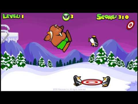 Пингвины в спасательной операции. Мультики для детей Игры онлайн. Cartoons for children Games online