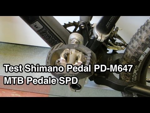 test shimano pd m647 mtb pedale spd pedal klickpedale. Black Bedroom Furniture Sets. Home Design Ideas