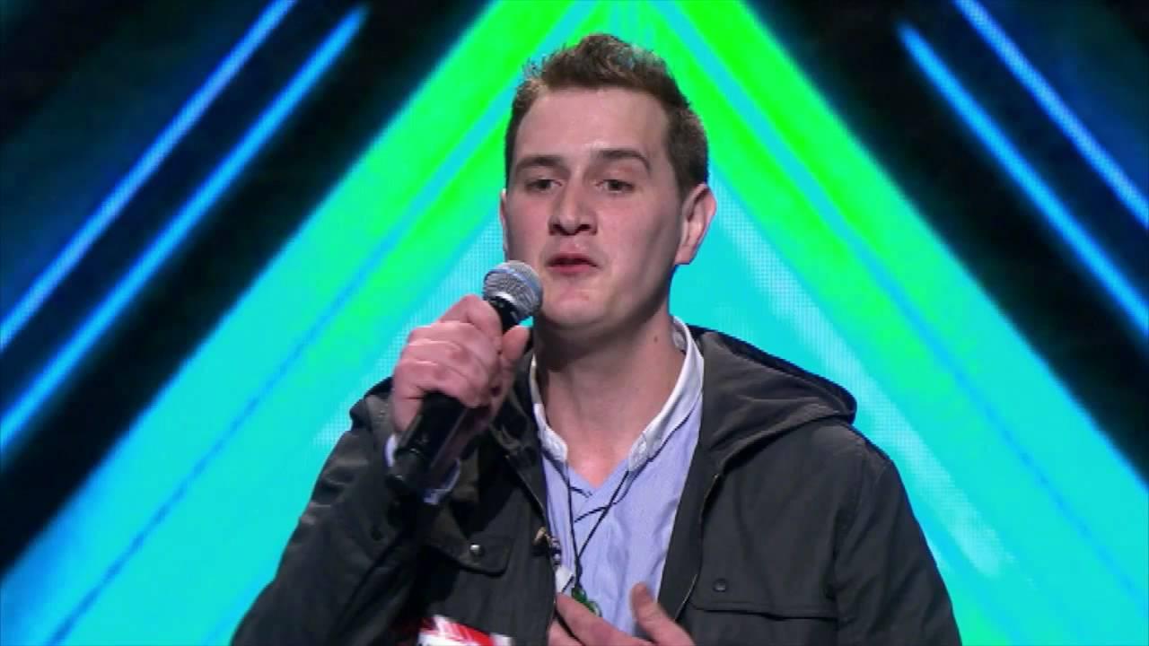 X Factor Joseph Anteater Joe Irvine First Audit...