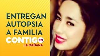 Entregan informe de autopsia a familia de Fernanda Maciel - Contigo en La Mañana