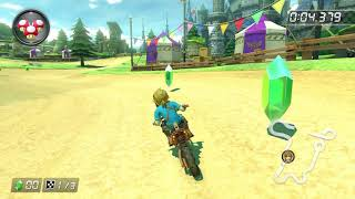 Mario Kart 8 Deluxe | First Look at Breath of the Wild Link & Master Cycle Zero Gameplay