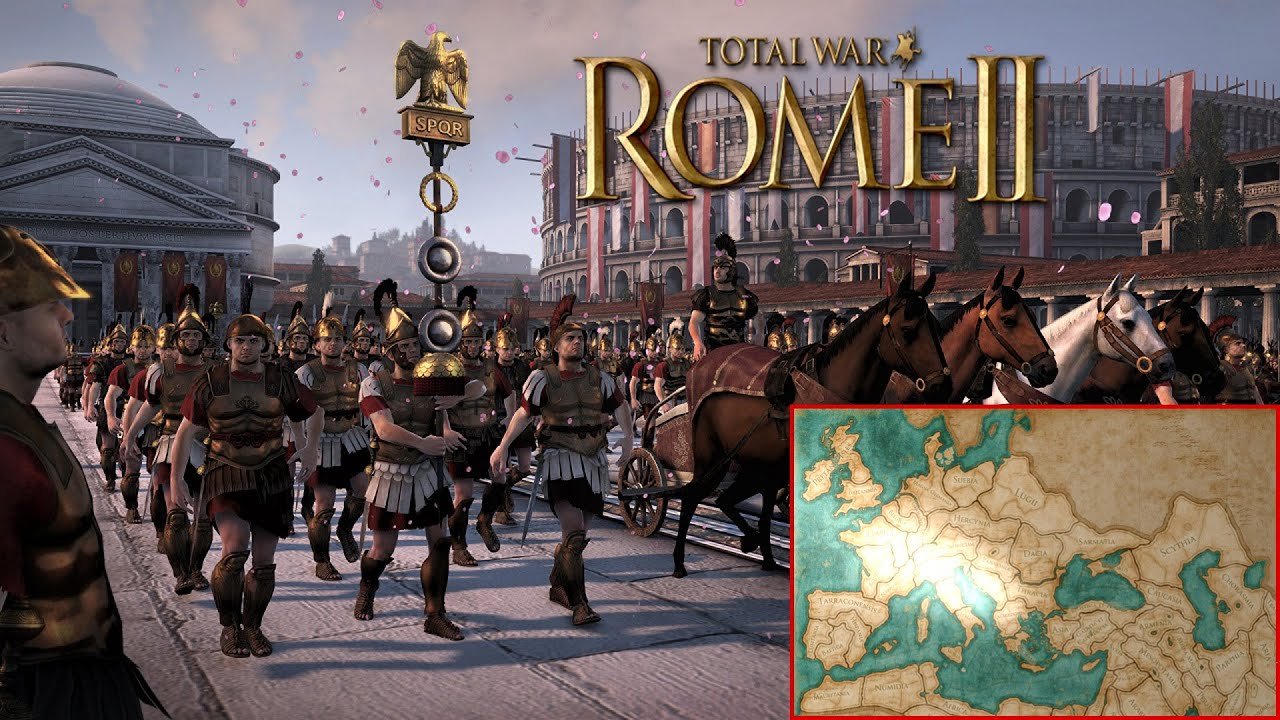 das r mische reich let 39 s show total war rome 2 youtube. Black Bedroom Furniture Sets. Home Design Ideas